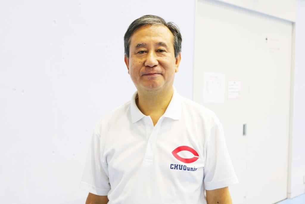 杉並フェンシングクラブ代表 高橋先生